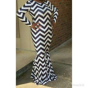 Mermaid Long Maxi Dress